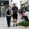 I don't want this! (Edwin Verhulst) Tags: pirot charliechaplin trapted notinthemood objection street theather clown city heraklion crete greece