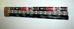 star wars wrapping paper 3 rolls pack by typo australia 2016 a (tjparkside) Tags: typo star wars xmas christmas wrapping paper australia 3 rolls 9 metres logo stormtrooper snow flake chewbacca yoda jedi master lightsaber darth vader 2016 print printed