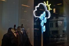 2017-04-14: All Conditions (psyxjaw) Tags: london londonist hackett clothes shop onenewchange shopping centre cityoflondon rain cloud weather symbol