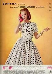 Soptra 1960 (barbiescanner) Tags: soptra vintage retro fashion seventeen vintagefashion vintageads 60s 60sfashions 1960s