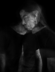Autoretrato (Grafic Oz) Tags: blackandwhite bnw portrait artist textures lumixg ghost