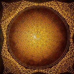 Oro de Alcazar (Rice Bear) Tags: sevilla seville spain alcazar ceiling andalucía es gold españa moorish architecture nikon d800 travel travelgram
