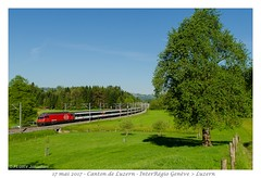 Re 460 - Luzern (CC72080) Tags: 460 interrégio sbb ffs cff train locomotive