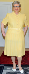 Ingrid024393 (ingrid_bach61) Tags: dress kleid pleatedskirt faltenrock mature