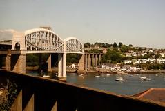 Royal Albert Bridge, Saltash-Plymouth 17 June 2017 (Cold War Warrior) Tags: bridge ikbrunel saltash plymouth rivertamar cornwall