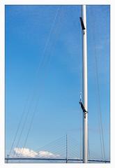 _brigde (fot_oKraM) Tags: stralsund brücke bridge rügenbrücke strelasund rügen ruegen mecklenburgvorpommern vorpommern segelboot segelyacht segeljacht