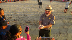IMG_0225.1 (mikehogan2) Tags: padreisland nationalseashore texas sea turtle kempsridley release hatchling