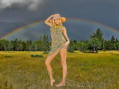 Women world 207 (maggiolonegiallo) Tags: hdr maggiolonegiallo girl rainbow arcobaleno people