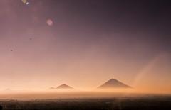 Mt. Batur and Mt. Agung (MehraabAnwar) Tags: sunset agung batur mtbatur mountain