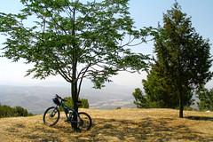 En el Mirador de Moclin (Micheo) Tags: bici bicicleta bicycle bikes mtb btt cycling recuerdos memories miradordemoclin