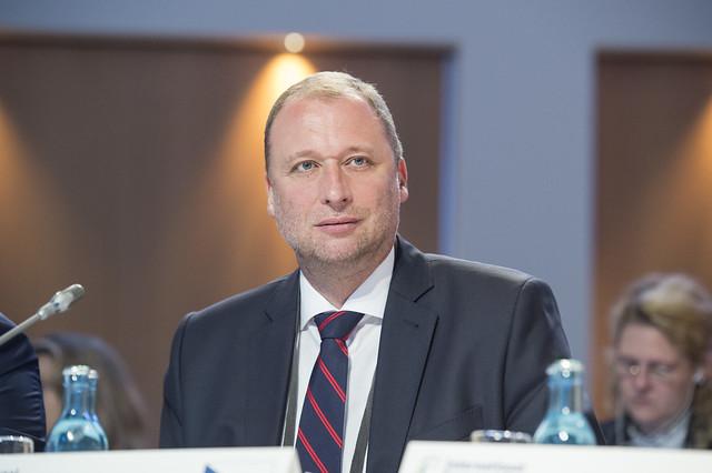 Ambassador Tomáš Jan Podivínský in session