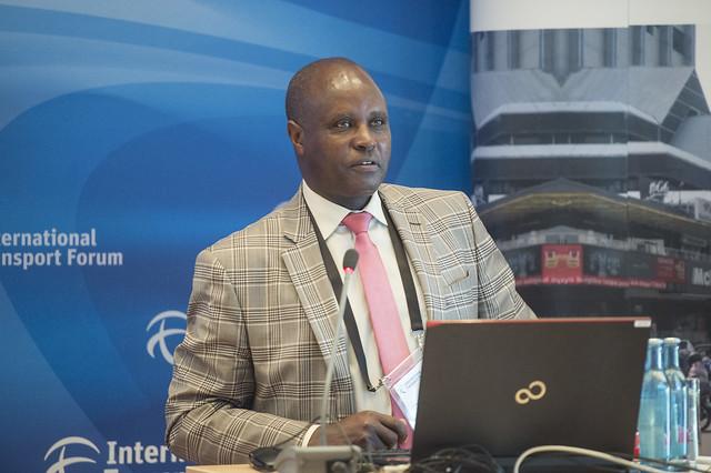 James Nganga presenting Nairobi case