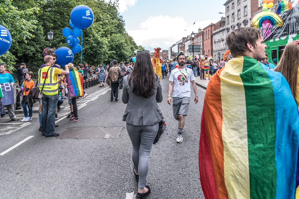 LGBTQ+ PRIDE PARADE 2017 [STEPHENS GREEN BEFORE THE ACTUAL PARADE]-129769