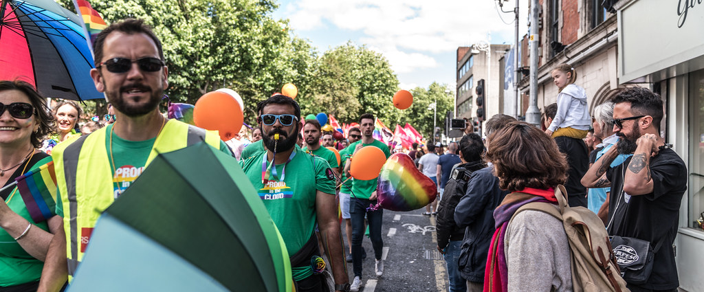 LGBTQ+ PRIDE PARADE 2017 [ON THE WAY FROM STEPHENS GREEN TO SMITHFIELD]-130141