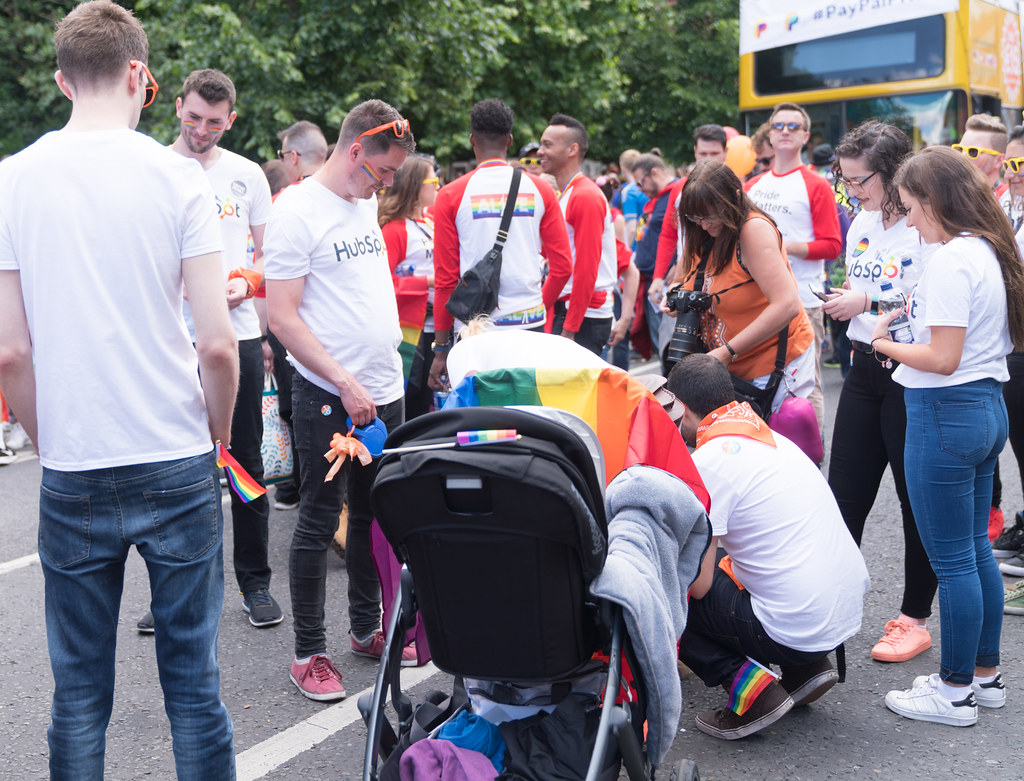 LGBTQ+ PRIDE PARADE 2017 [STEPHENS GREEN BEFORE THE ACTUAL PARADE]-129851