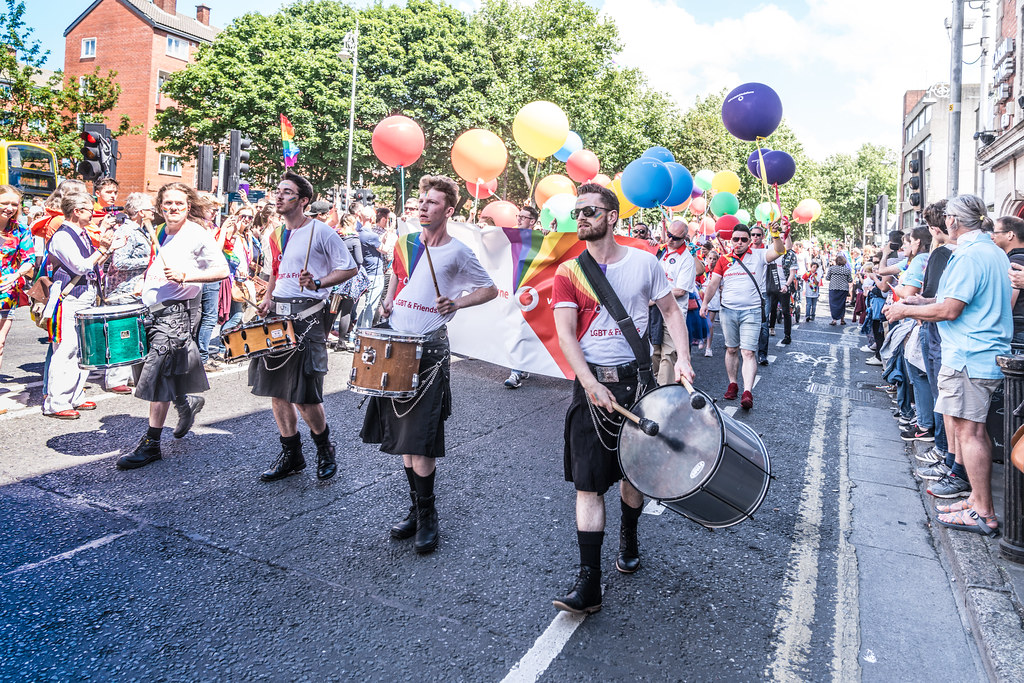 LGBTQ+ PRIDE PARADE 2017 [ON THE WAY FROM STEPHENS GREEN TO SMITHFIELD]-129983