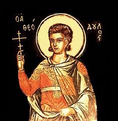 Saint Theodulus of the 40 Martyrs of Sebaste (CatholicArtist) Tags: saint theodulus teodulo san martir martyr martyrs 40 sebaste theodoulos teodul santi santos santo sebastia warrior soldier theodulos