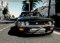 Toyota Celica (Matze H.) Tags: toyota celica gt 1970 tuning classic city streets brutal forza horizon 3
