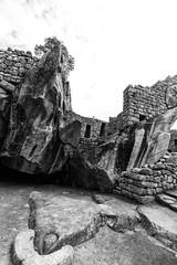 Temple of Condor (Hkdamien) Tags: monochrome bw blackandwhite 1635 fullframe canon ruin temple machupichu 2017 peru