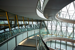 Straight & Curved (Future-Echoes) Tags: 4star 5star 2016 architecture building cityhall glass light lines london reflections steel steps