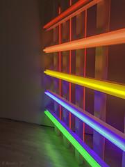 The Incredible Lightness of Dan Flavin (Greatest Paka Photography) Tags: light fluorescent color danflavin sfmoma museum minimalism artist art fixture museumofmodernart haroldjoachim illumination