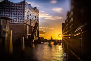 Hamburg Elbphilharmonie Flare