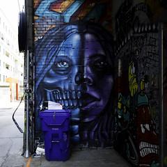 A face of determination (aerojad) Tags: eos canon 80d dslr 2017 city urban art artinpublicplaces streetart publicart mural murals graffiti vacation travel wanderlust graffitialley toronto canada vibrant colorful