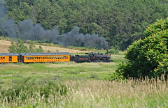 Smoke Trail (craigsanders429) Tags: arcadeattica arcadeatticano18 steamlocomotives steamtrains steamexcursions steamtrain passengertrains passengercars