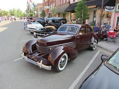 Cord Westchester (Hugo-90) Tags: 1936 cord westchester sedan car auto automobile cruise holly michigan antique classic acd auburn duesenberg