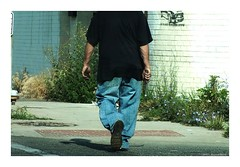 Armed and Dangerous (TooLoose-LeTrek) Tags: detroit danger pedestrian crime weapon