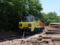70817 Moorswater (39) (Marky7890) Tags: colasrail 70817 class70 6c35 moorswater liskeard cornwall railway train