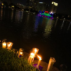 OrlandoUnited - Candlelight Vigil for Pulse Victims