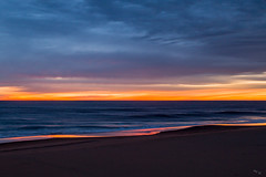 Sandbridge Sunrise (Chuck - PhotosbyMCH) Tags: photosbymch landscape seascape sunrise beach sandbridge virginiabeach virginia usa canon 5dmkiii 2017 reflection clouds waves atlanticocean goldenhour outdoors winter