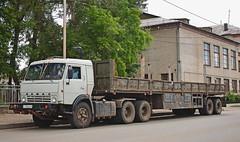 KamAZ-54112  У 130 ВА 45 (RUS) (zauralec) Tags: kurgan serdlovstreet kamaz54112 у 130 ва 45 rus город курган улица автомобиль грузовик