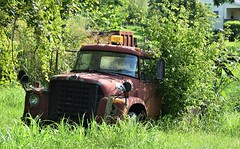 Tow Truck (robgividenonyx) Tags: rusty wrecker towtruck abandoned kentucky rural ruraldecay rusted owencounty internationalharvester