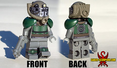 IT'S BACK! (Saber-Scorpion) Tags: lego minifig minifigures minifigs minifigure moc postapoc postapocalyptic fallout fallout4 fallout3 falloutnewvegas newvegas fnv powerarmor t51b brotherhoodofsteel bos