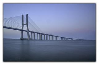 Puente de Vasco de Gama. LISBOA