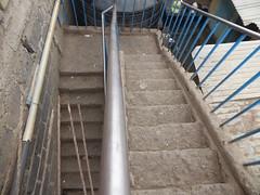 Looking down the stairs (prondis_in_kenya) Tags: kenya nairobi colddryseason kayole tujisaidie school stair banister surface finish