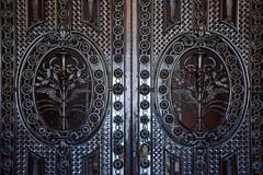 Louvre Gate (avtencza) Tags: paris france travel louvre museum metalwork caduceus