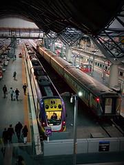 train southerncrossstation melbourne victoriaaustralia... (Photo: Paul Threlfall on Flickr)