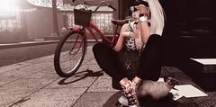 📷   Kiss my feet. (ℒidsα) Tags: besom r3volt pixicat kccouture illi mg realevilindustries zenith itdoll doll girl cute woman lotd fashion game gamer gamergirl gamedoll avatar sl secondlife slavatar slfashion free freebie mesh pixel virtual virtualworld beauty beautiful photo photograph snapshot clothing clothes picture blog blogger slblogger secondlifeblogger moda event cat pet kitty bicycle city maxigossamer