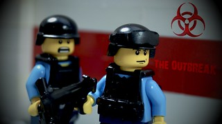 Lego Zombie: The Outbreak Sigma Security Guards