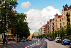 Road, street & rail (@acastellonm) Tags: goteborg gotemburgo gothenburg sweden suecia sverige city ciudad scandinavian país country road street rail carretera vía calle paisaje
