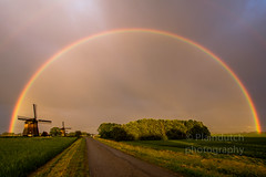 "Rainbow over a dutch landscape • <a style=""font-size:0.8em;"" href=""http://www.flickr.com/photos/125767964@N08/35103022582/"" target=""_blank"">View on Flickr</a>"