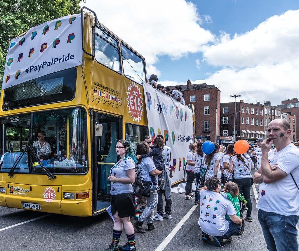 LGBTQ+ PRIDE PARADE 2017 [STEPHENS GREEN BEFORE THE ACTUAL PARADE]-129858