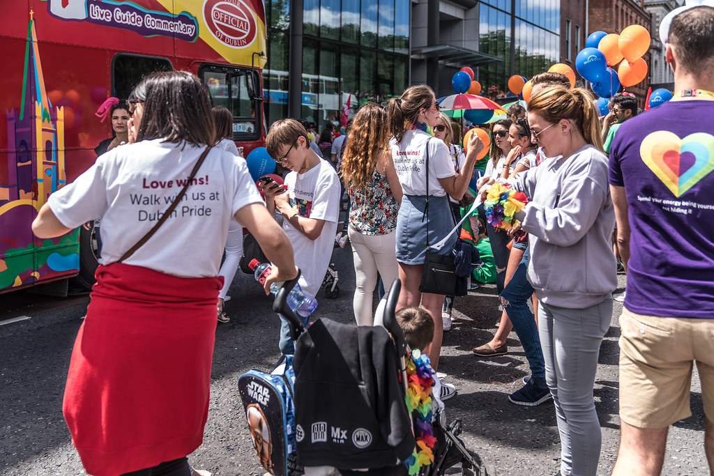 LGBTQ+ PRIDE PARADE 2017 [STEPHENS GREEN BEFORE THE ACTUAL PARADE]-129872