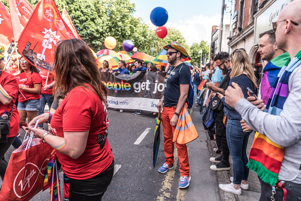 LGBTQ+ PRIDE PARADE 2017 [ON THE WAY FROM STEPHENS GREEN TO SMITHFIELD]-129997