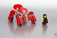 LC-01 (Cole Blaq) Tags: rot arise ghost shell ghostintheshell gits mech mecha model modelart modelbuilding multiped robot think tank thinktank walker cole blaq colebblaq