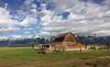 T.A Mormon Barn, Grand Teton National Park, Wyoming (TG23-Birding in a Box) Tags: grandtetonnationalpark mormonbarn sky skyscapes barn wyoming