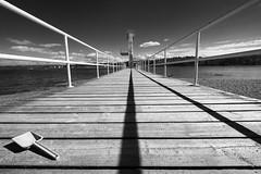 Dig or dive (vandrende) Tags: akershus hvalsbakken hvalstrand nor vettre bw divingtower landscape landskap nb norge norvege norway paysage pelle plongeoir shovel spade stupetårn svarthvit asker